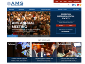 New AMS Website