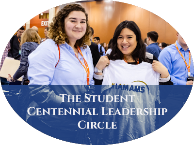 The Student Centennial Leadership Circle