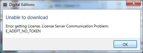 Adobe Error Getting License Server Communication Problem E_adept_io