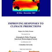 Responding to Climate Predictions