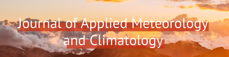 Journal of Applied Meteorology and Climatology