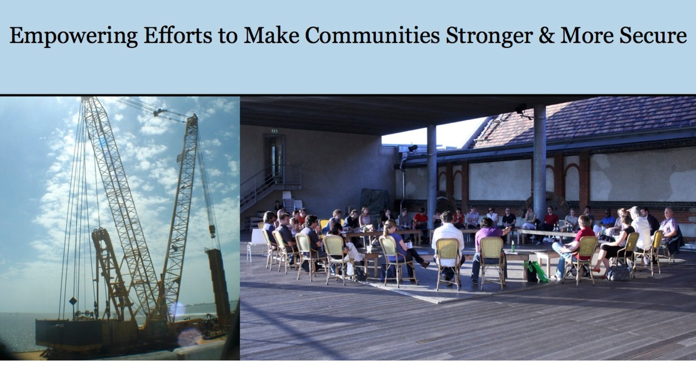 Making Communities Stronger and More Secure