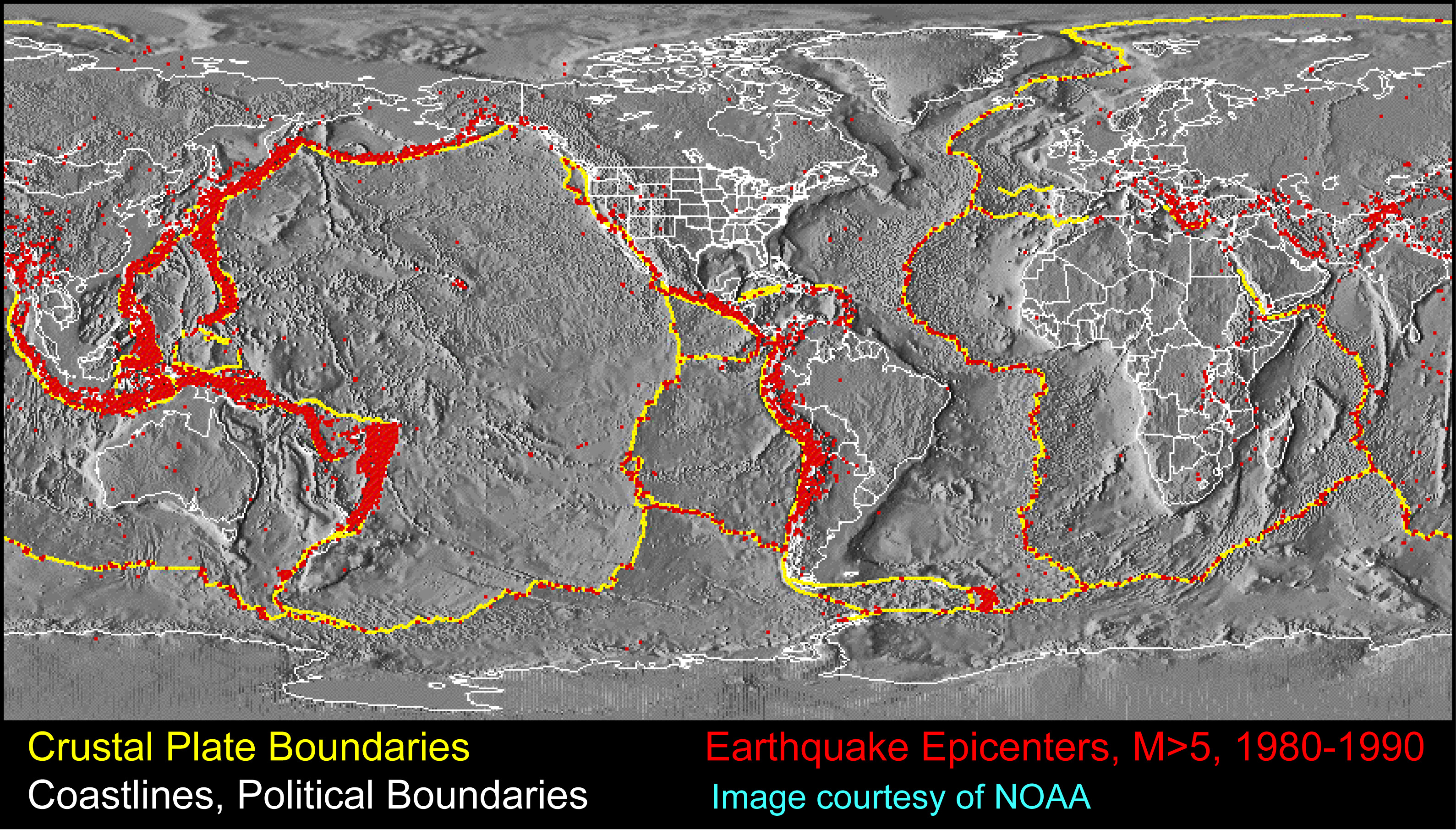 Investigating Plate Tectonics Earthquakes And Volcanoes Figa