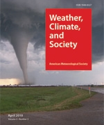 Weather, Climate, and Society - Journal